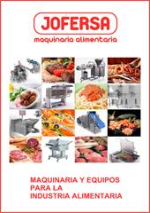 Jofersa, catálogo maquinaria alimentación